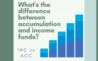 The difference between accumulation and income funds (ACC vs INC)