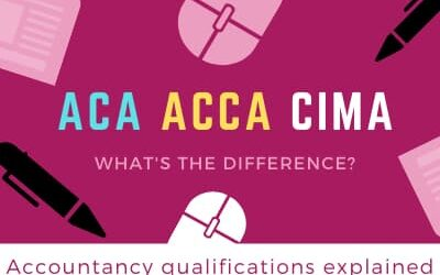 ACA, ACCA and CIMA – what's the difference?