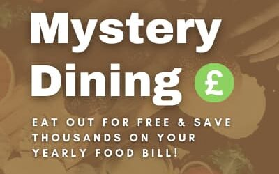 How Mystery Dining can help you eat out for free and save £5k a year