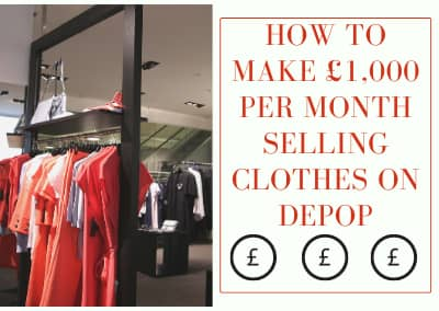 How to make £1,000 per month selling clothes on Depop